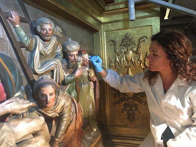 Antònia Reig_Taller de Restauració del Bisbat de Mallorca