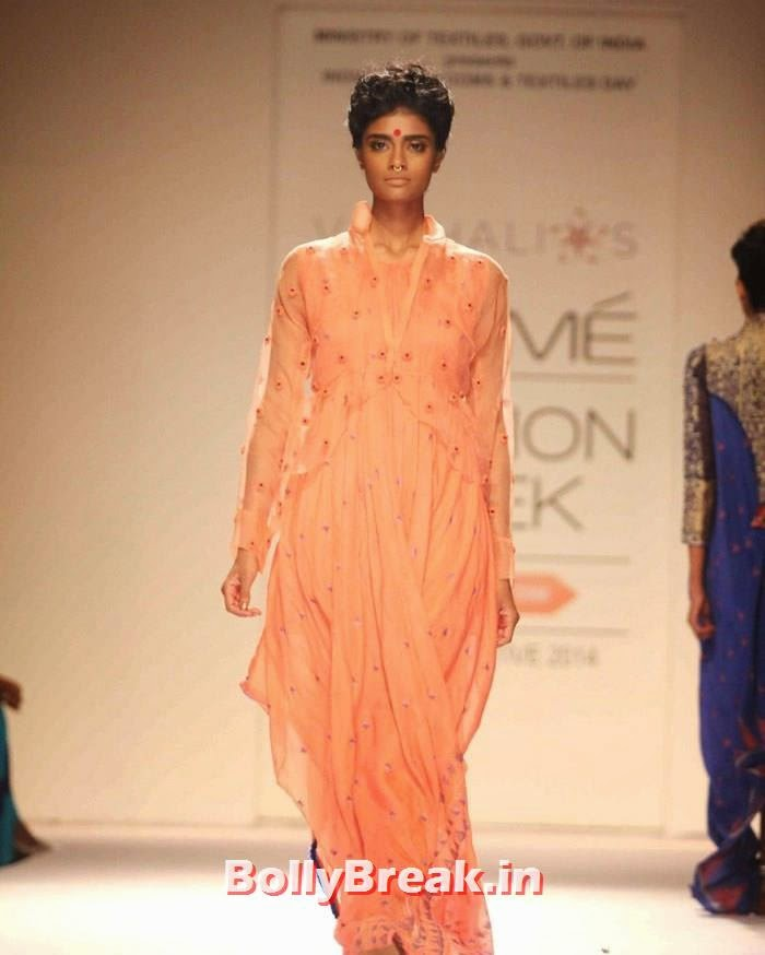 Archana Akhil Kumar, Indian Female Models in Saree - Lakme Fahsion Week Ramp Walk