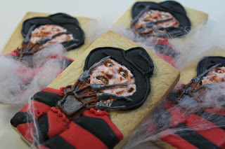 Galletas decoradas Freddy Krueger