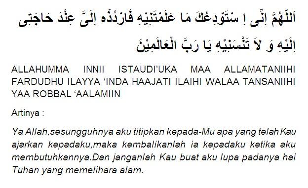 Doa Sebelum Belajar dan Sesudah Belajar Lengkap Artinya