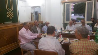 افطار مجمع بمجلس مدينه زفتي تحت رعاية الاستاذ طراد سالم.