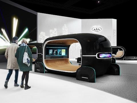 Kia Looks at a Driverless Future at CES
