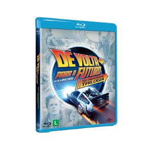 Blu-Ray de Volta Para o Futuro Trilogia 30º Aniversário 3 Discos