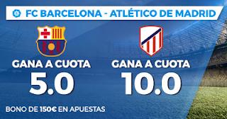 Paston Doble Megacuota Liga Santander Barcelona vs Atlético 4 marzo