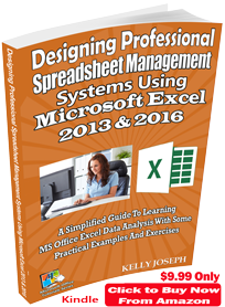 latest ms excel textbook kindle and paperback formats