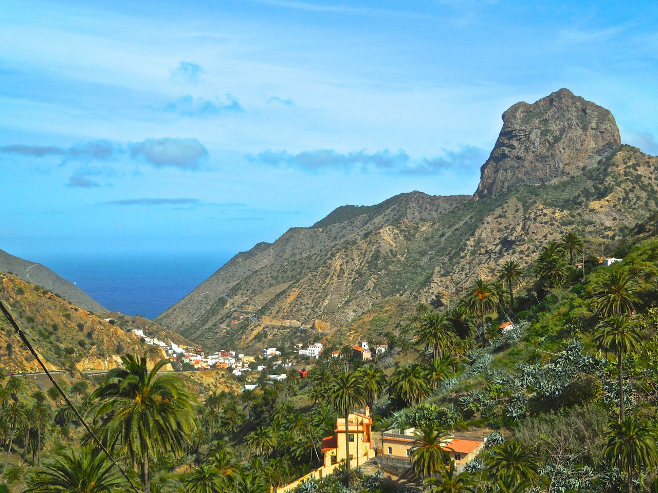 La Gomera Island Canary Islands Vallehermoso S Roque Cano