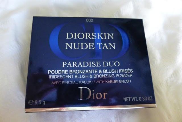 Dior Diorskin Nude Tan Paradise Duo in Coral Glow