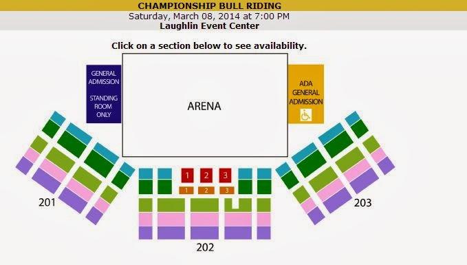 Laughlin Buzz Championship Bull Riding (CBR) at Laughlin Event Center
