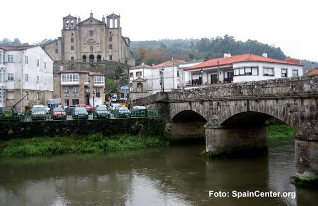 Padrón, Galícia, na Rota Portuguesa do Caminho de Santiago