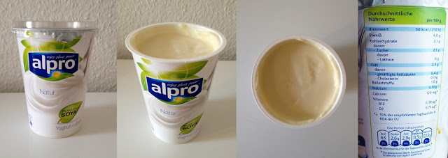 Alpro Soja Joghurt Nährwerte
