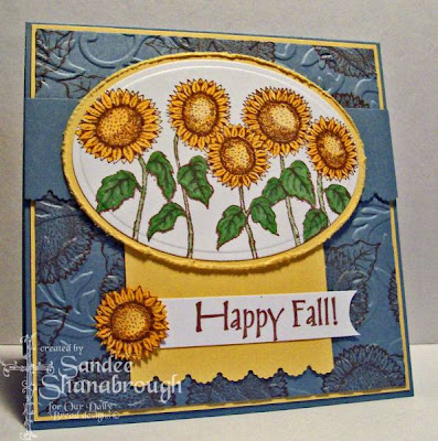 Our Daily Bread designs Harvest Blessings Happy Fall Designer Sandee Shanabrough