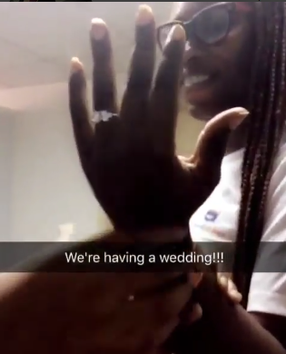 New Trend? Watch| Nigeria Lady Gets Engaged In An Unusual Manner