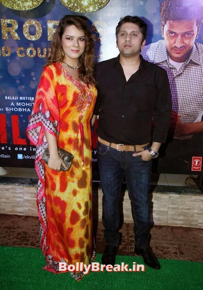 Udita Goswami with Mohit Suri