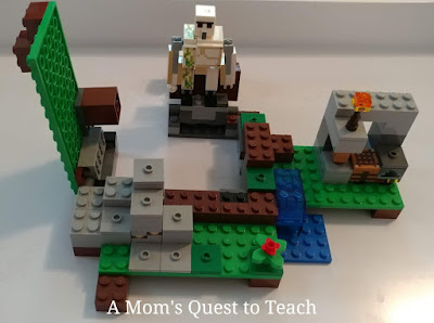 Iron Golem Minecraft Lego Build