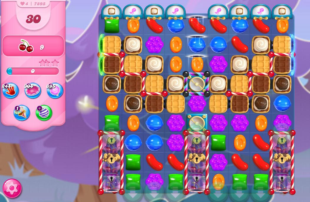 Candy Crush Saga level 7895