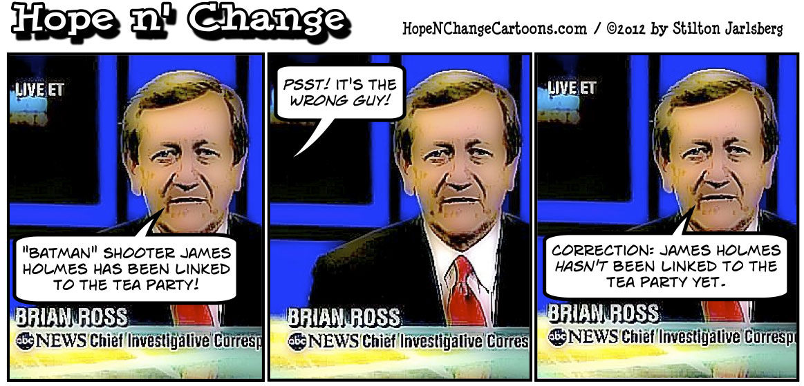 ABC News tries to connect Batman massacre to tea party, james holmes, dark knight, stilton jarlsberg, hope n' change