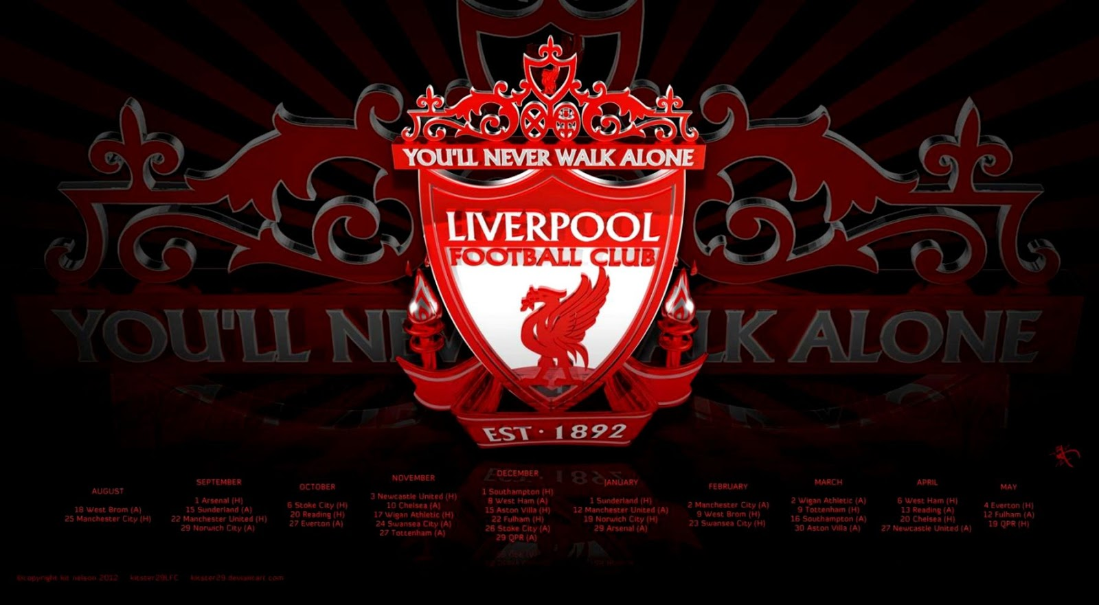 Liverpool Fc Wallpapers | Wallpapers Gallery