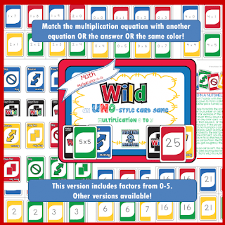 Free Math Educational Card Game for Kids