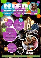 Programa da Festa de São Sebastião em Nisa 2015