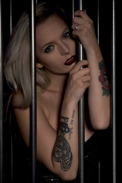 cage behind bars