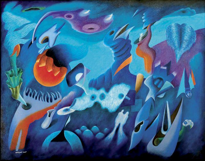 Lukisan Abstrak Hem: Fiona's Space: Contoh Lukisan Abstrak