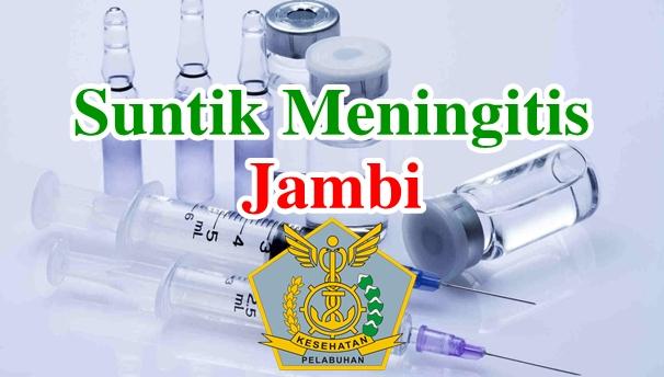 Alamat Tempat Suntik Vaksin Meningitis di Jambi