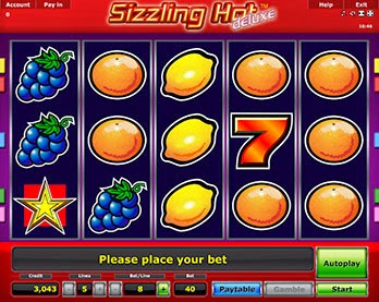 Sizzling Hot Deluxe Poker Ca La Aparate