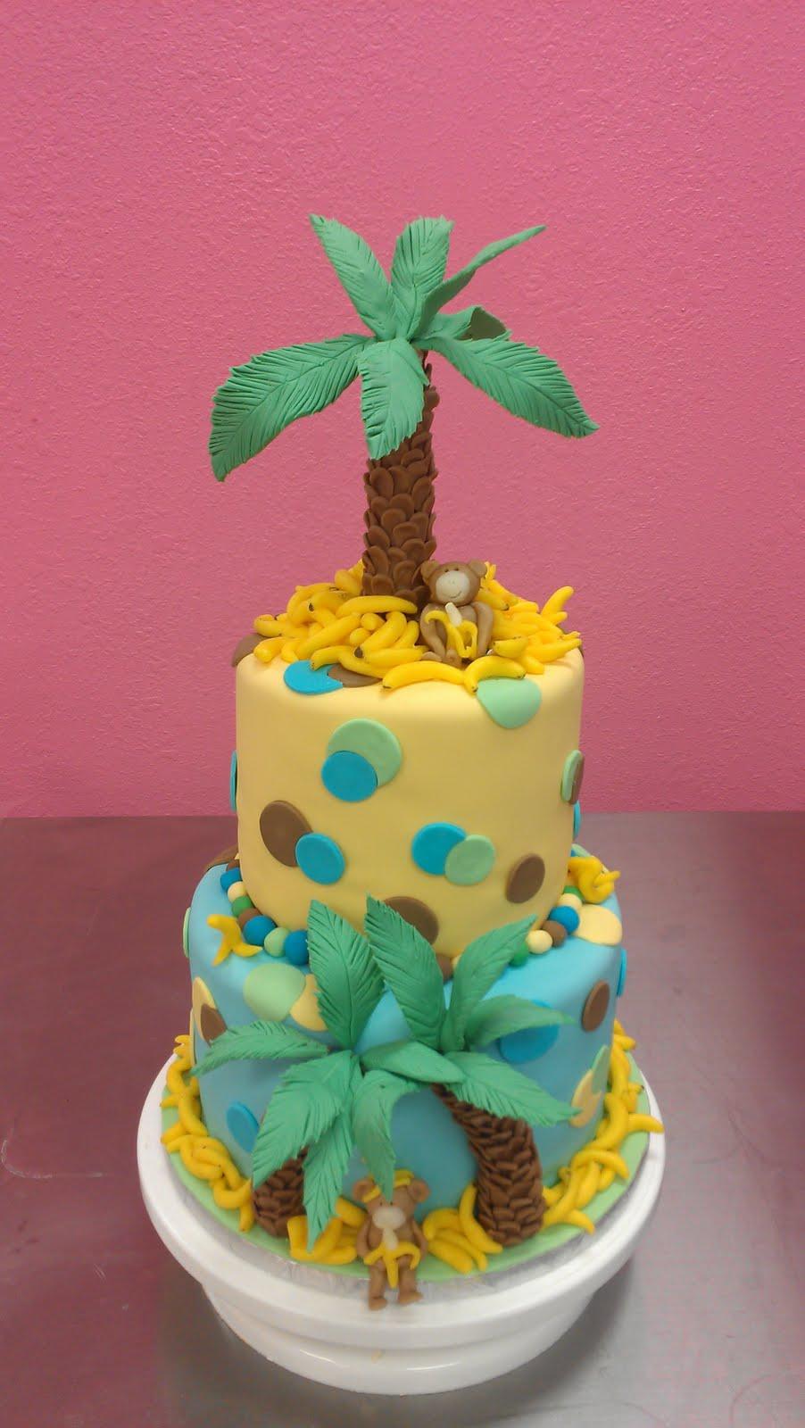 Wendy Woo Cakes: Monkey Cake Tutorial