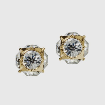 Kate Spade lady marmalade stud earrings to match the bracelet