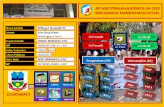 Aplikasi Penilaian Raport Siswa Kurikulum 2013 Kelas 1 dan 4 SD