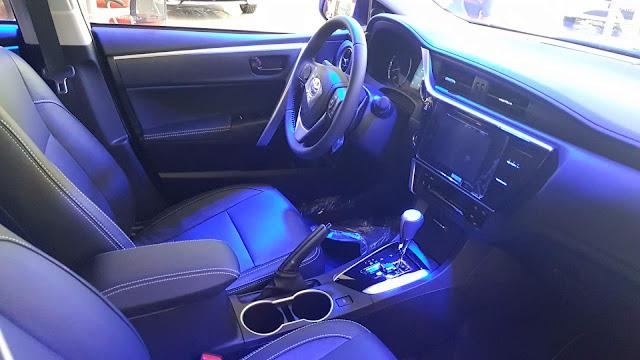 Novo Corolla 2018 XRS - interior
