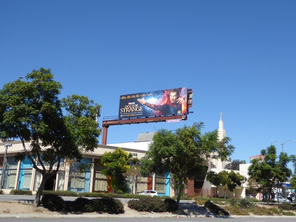 Doctor Strange billboard