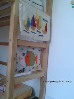 decoration d'interieur avec feutrine pour chambre enfants
