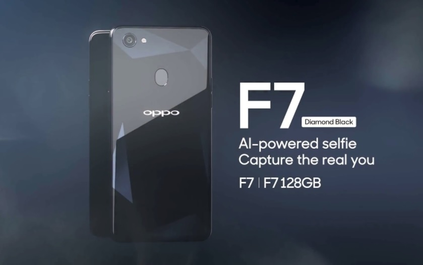 Oppo F7 Diamond Black 128GB Variant
