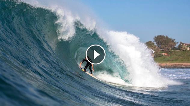 EXCLUSIVE Watch Matt Bromley Slay Durban s Swell of the Decade