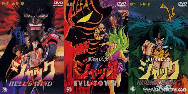 rekomendasi anime Violent Jack Series
