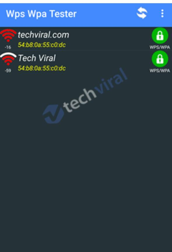 How to hack WiFi with WIFI WPS WPA TESTERTechnology