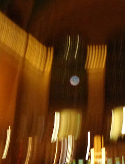 sharp orb in blurred photo