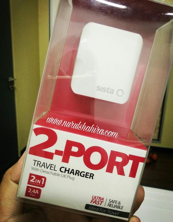Kenapa Aku Pilih Easy Go Travel Charger dari SISTAMalaysia