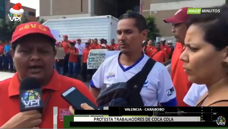 Coca-Cola de Venezuela despide a 2.000 empleados en plena navidad