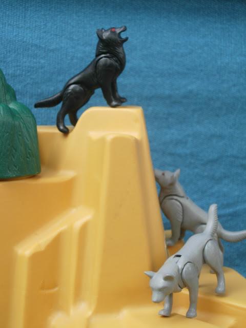Playmobil wolfes