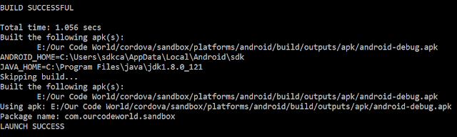 Cara memperbaiki Error : Could not find gradle wrapper within Android SDK. Might need to update your Android SDK di cordova