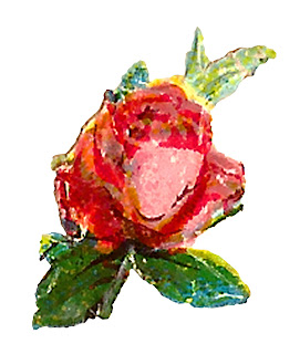 clipart rose craft shabby chic digital download floral images