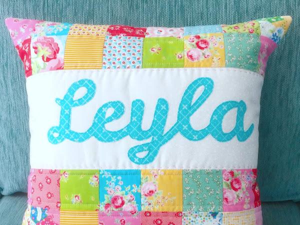 PJ Name Pillows