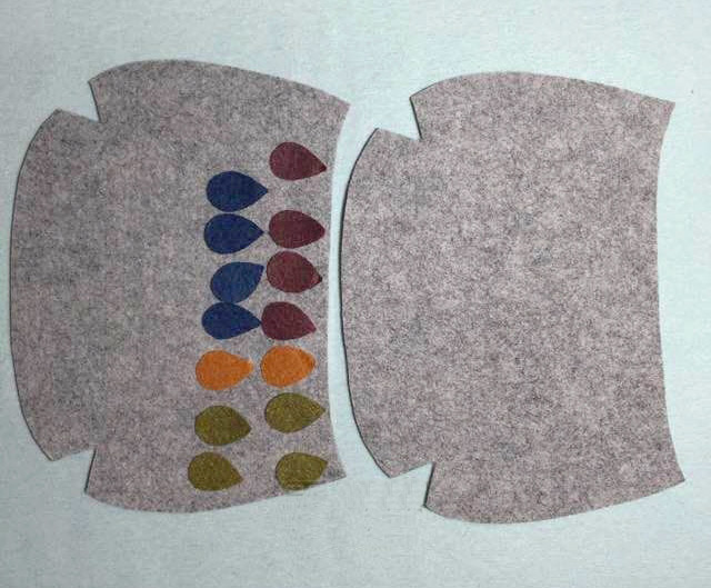 Photo Tutorial: How to Make Bag Felt. DIY step-by-step.