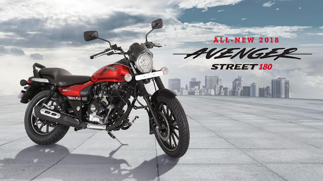 New 2018 Bajaj Avenger Street 180 HD Images