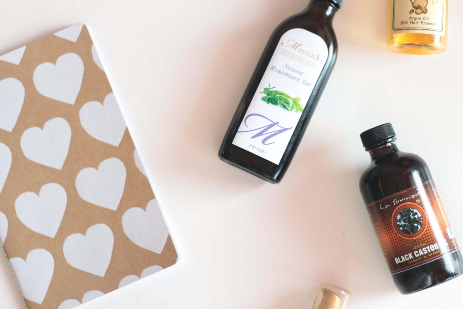 does oil really keep hair healthy peppermint coconut castor rosemary keratin argan