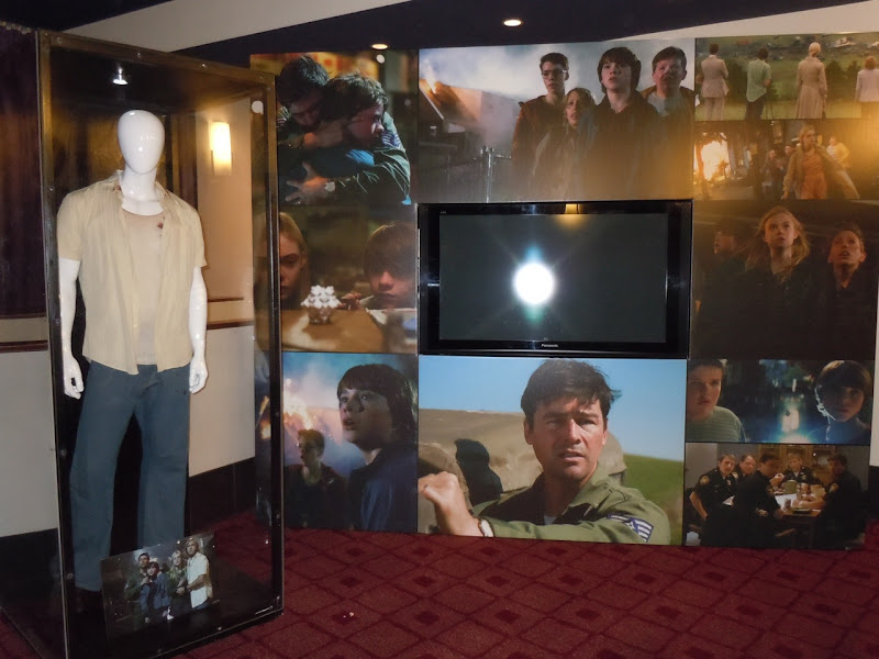 Super 8 movie costume display
