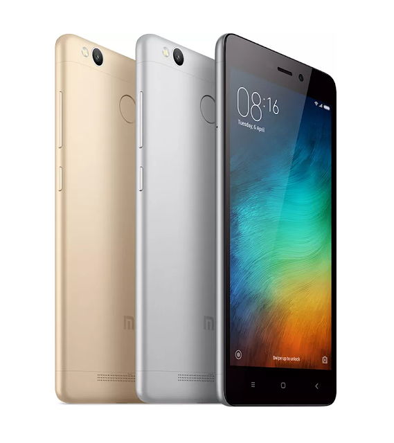 Xiaomi Redmi 3S And Redmi 3S Prime With 13MP Camera