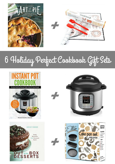 If you happen to have a foodie, an aspiring home cook or baker, or a wanna be pit master on your gift list this holiday season, you are going to love this collection of 6 Holiday Perfect Cookbook Gift Sets.